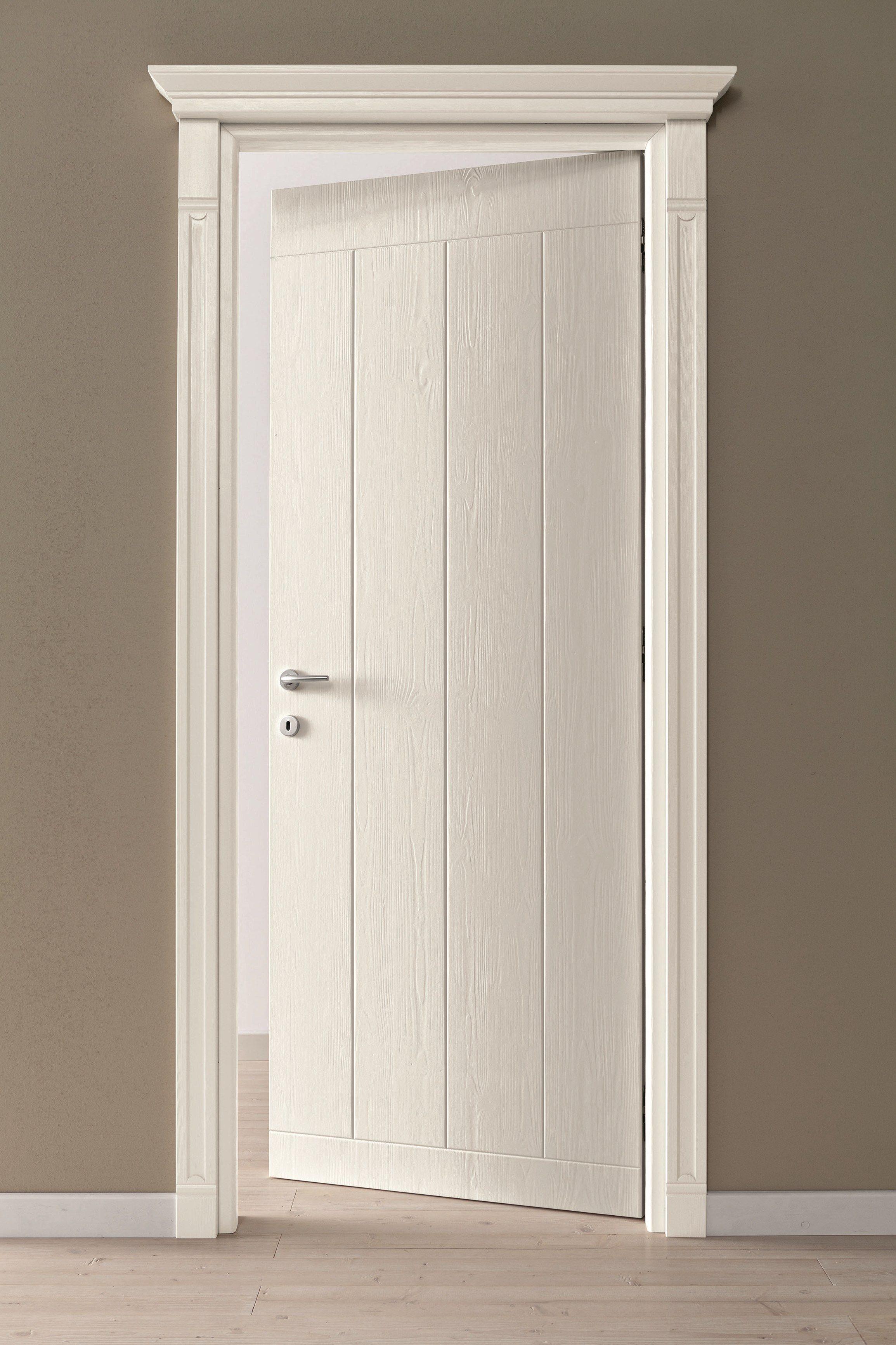 Porte Interne Shabby Chic porta a battente in legno in stile classico by scandola