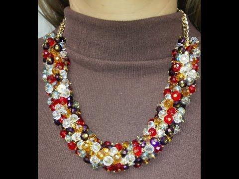 50a061d2ba43 Manualidad  Collar en Perlas Azules - Hogar Tv por Juan Gonzalo Angel -  YouTube
