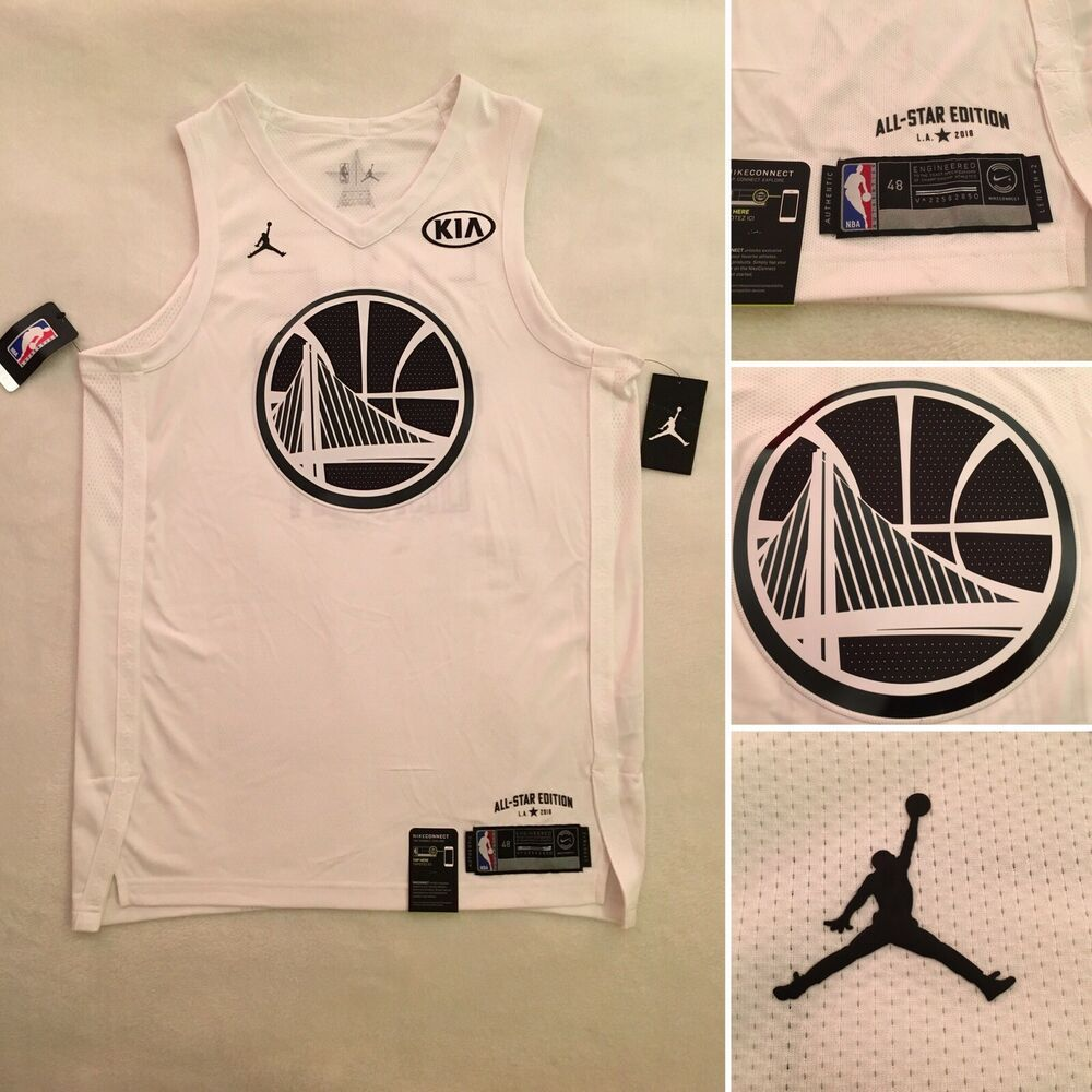 30192e3fcbc Men s Air Jordan Kevin Durant All Star Edition Authentic Jersey NBA Size  Large 885178156458
