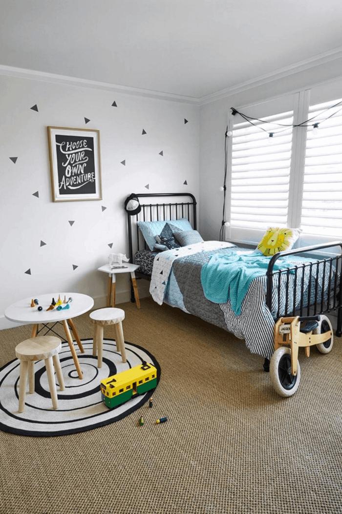 Kinderzimmer einrichten Neutrale Farben und dennoch