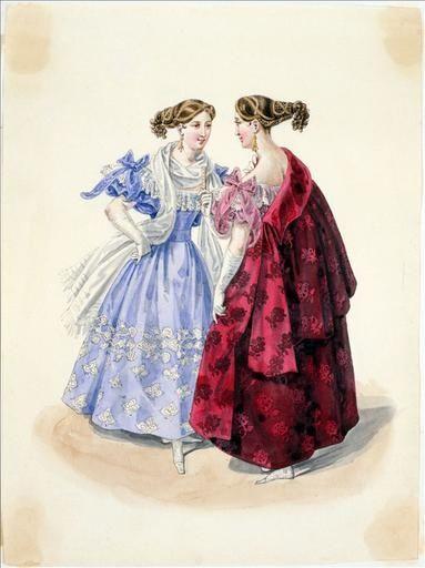 1832. Evening dresses.