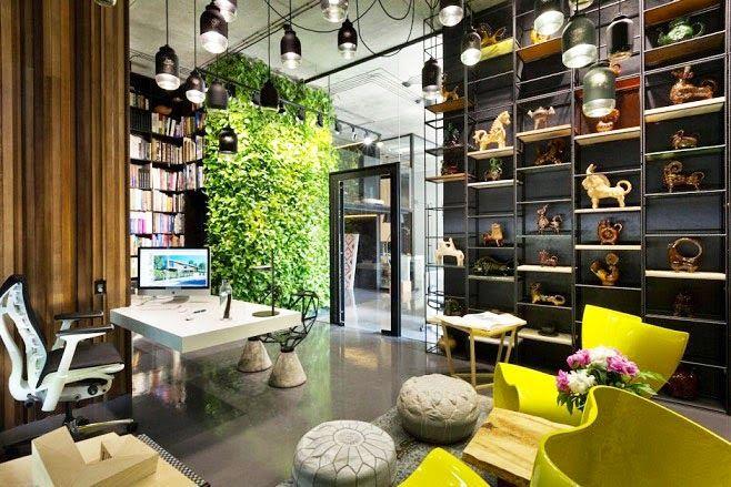 Oficina y showroom taller arquitectura sergey makhno - Arquitectos de interiores famosos ...