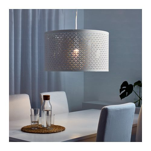 Ikea Nymo White Br Color Lamp Shade
