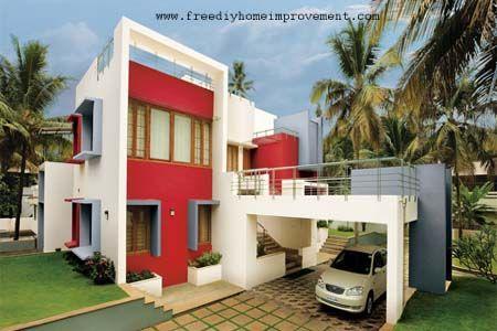 Exterior Walls Paint Ideas Color Scheme Combination Diy Home Improvement Tips Guide