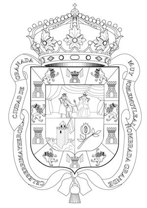 Escudos de las 8 provincias andaluzas para murales  Actiludis