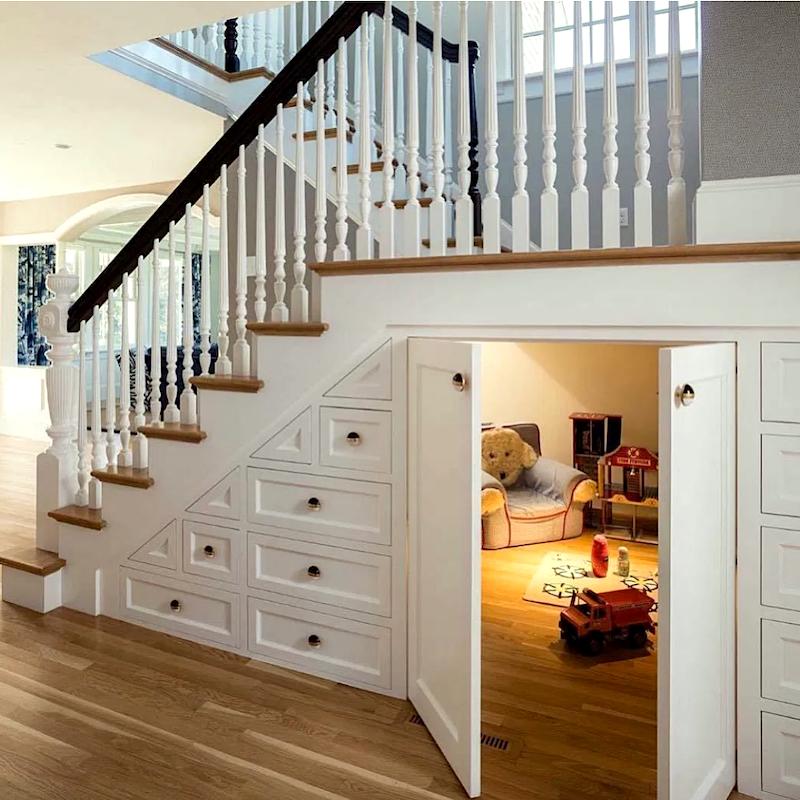 21 Best Hidden Storage Ideas, Stairs, Kitchens, Bathrooms