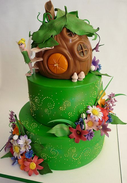 Tink House Tinkerbell Cake Themed Cakes Fairy Cakes