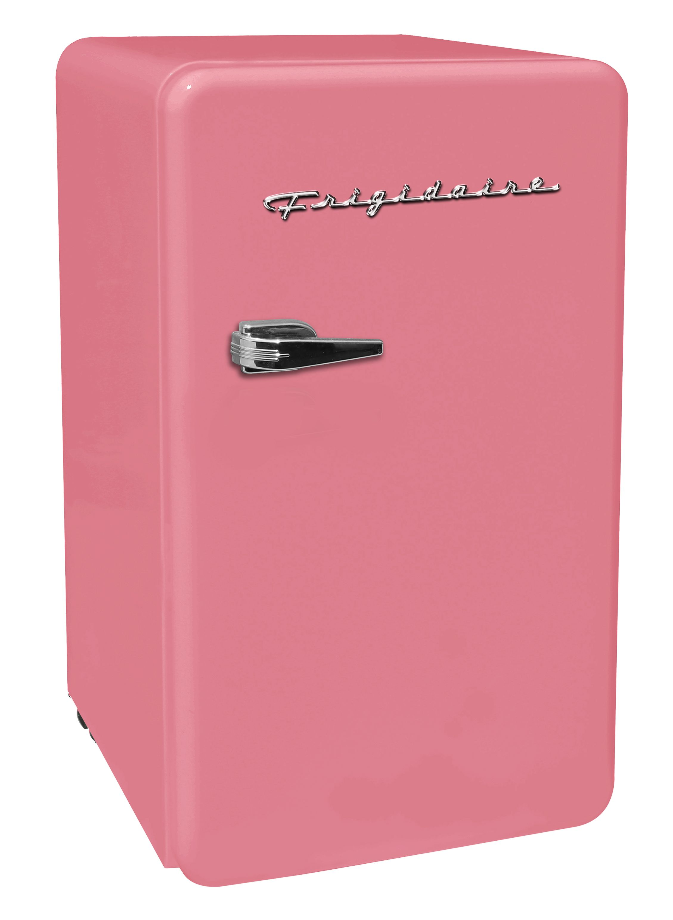 Frigidaire 3 2 Cu Ft Single Door Retro Mini Fridge Pink Walmart Com In 2020 Mini Fridge In Bedroom Mini Fridge Retro Fridge