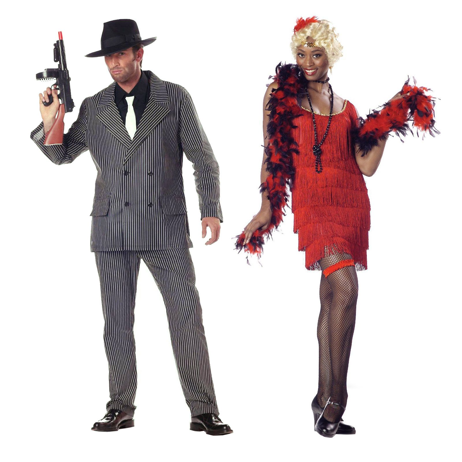 halloween costumes gangster flapper - Halloween Mobster Costumes