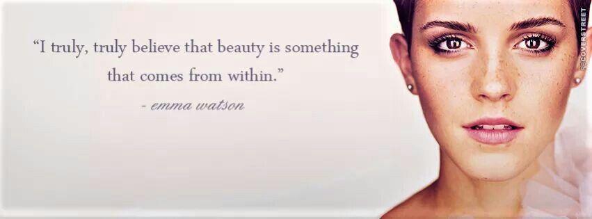 #MondayMotivation It's time celebrate the true #beauty that radiates from within - #EmmaWatson #glam #quotes #salon #folsom #sacramento #eldoradohills #cameronpark #california #facial #organic