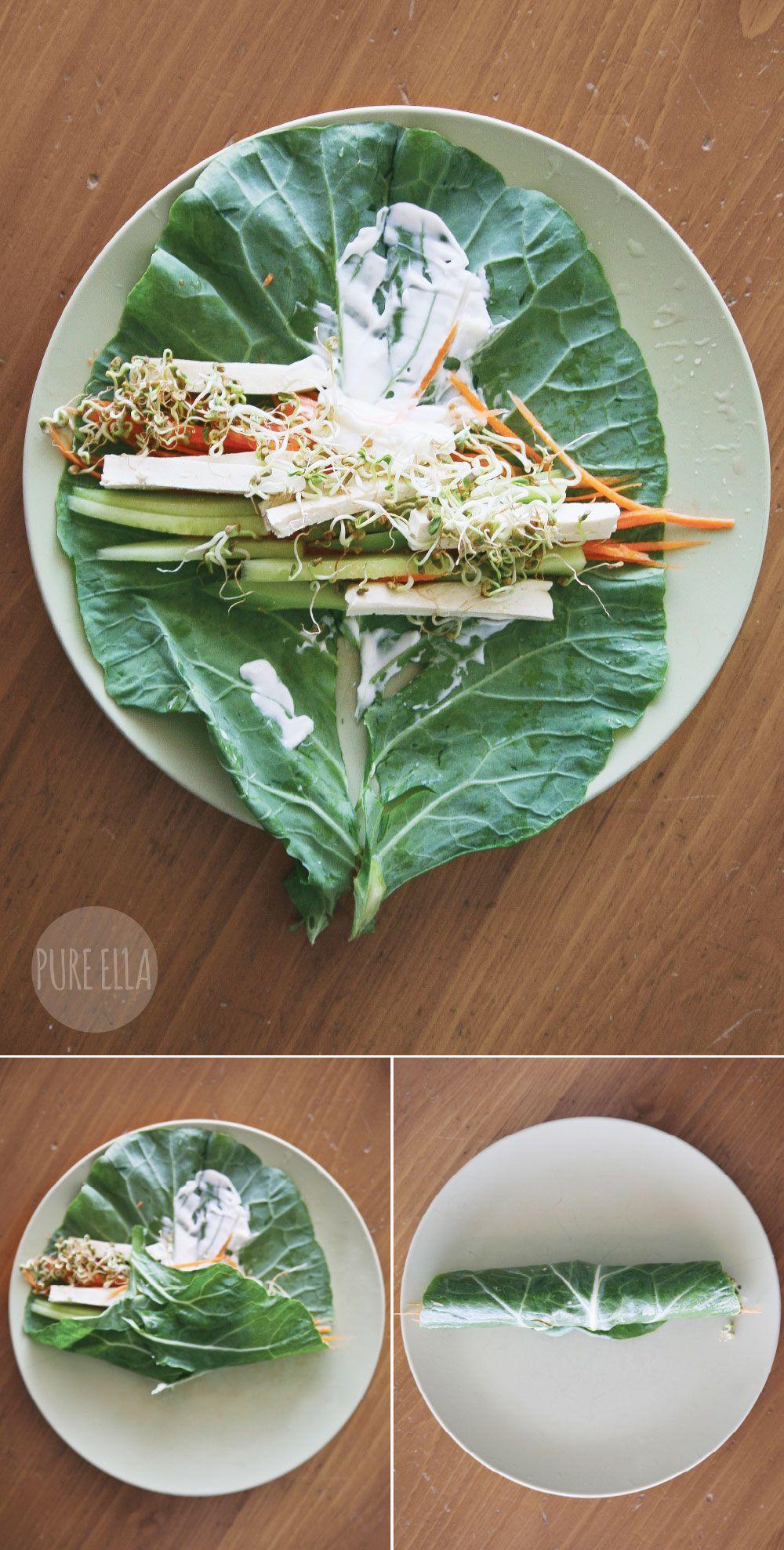 Pure Ella | Superfood Green Collard Wraps #glutenfree #vegan | www.pureella.com