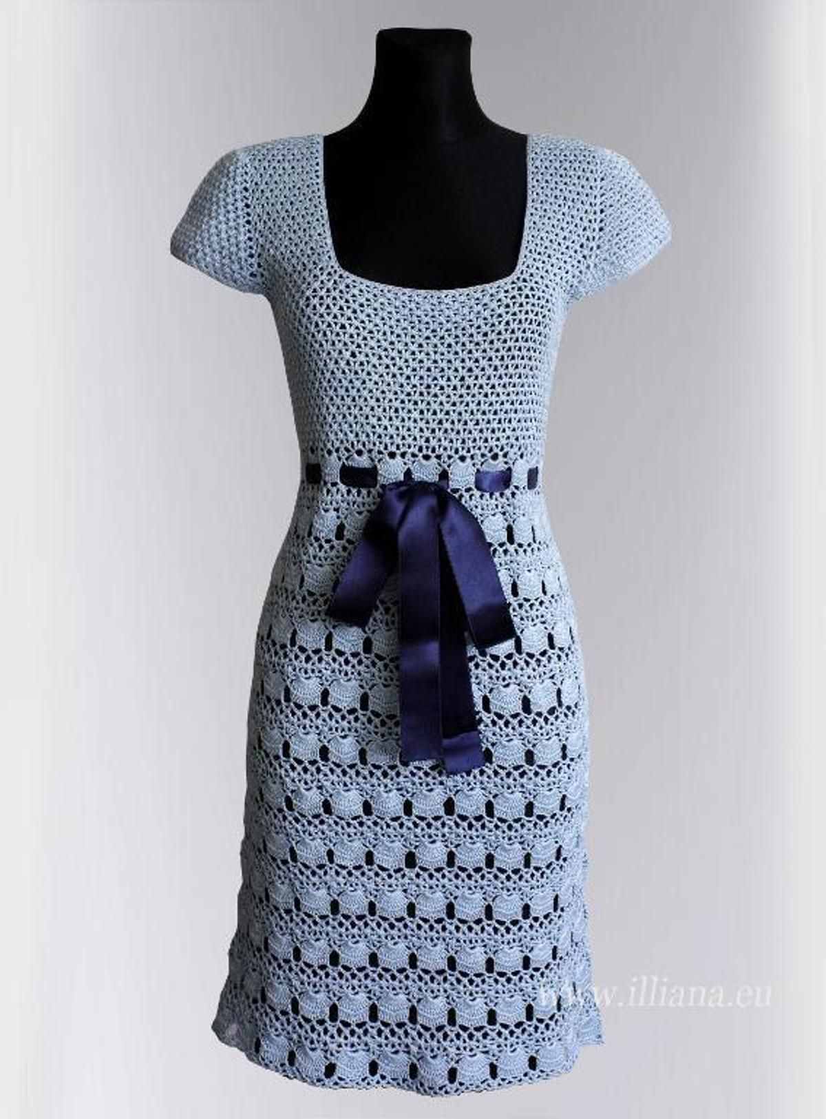 Crochet dress pattern no tejido pinterest croché