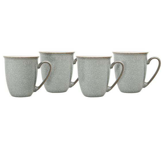Buy Denby Elements 4 Piece Coffee Set Light Grey At Argos Co Uk Your Online Shop For Tea