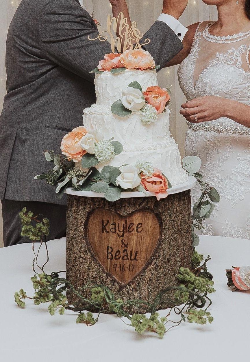 Cake from my wedding wedding weddingcake countrychic