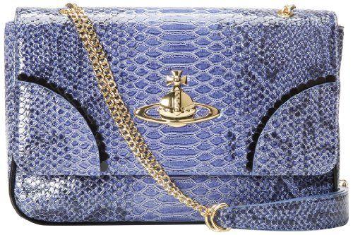 Vivienne Westwood Frilly Snake Cross Body Bag,Blue,One Size Vivienne Westwood,http://www.amazon.com/dp/B00DEYQR0Q/ref=cm_sw_r_pi_dp_9l8Hsb1GZ01796DN