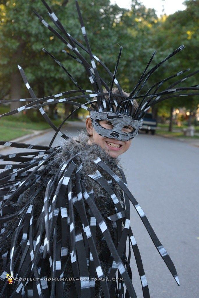 Fierce Porcupine Costume for a Boy | Halloween Costumes | Pinterest