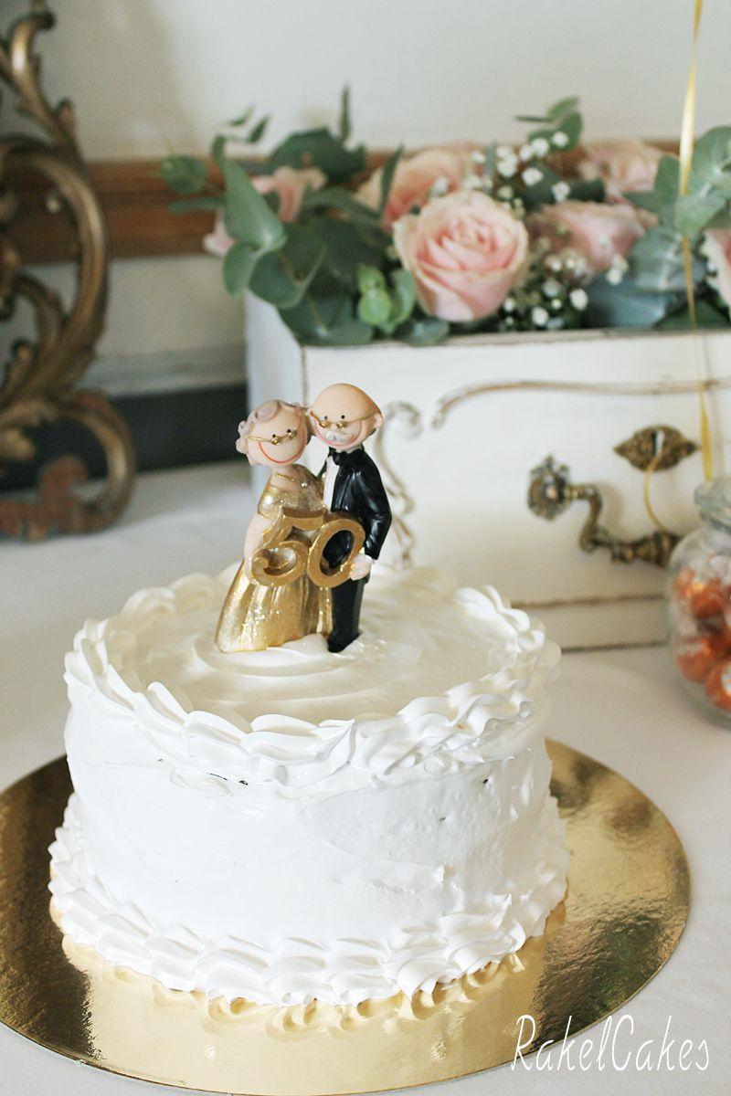 Tarta de boda sin az car refinado para celebrar un 50 for Decoracion 40 aniversario de bodas