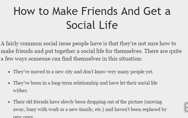 Image result for how to make friends and gain a social life