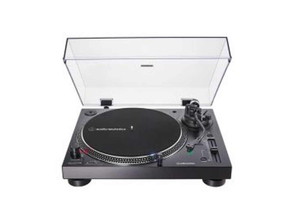 Audio Technica Atlp120x Black Direct Drive Turntable Usb At Hs6 Headshell Black