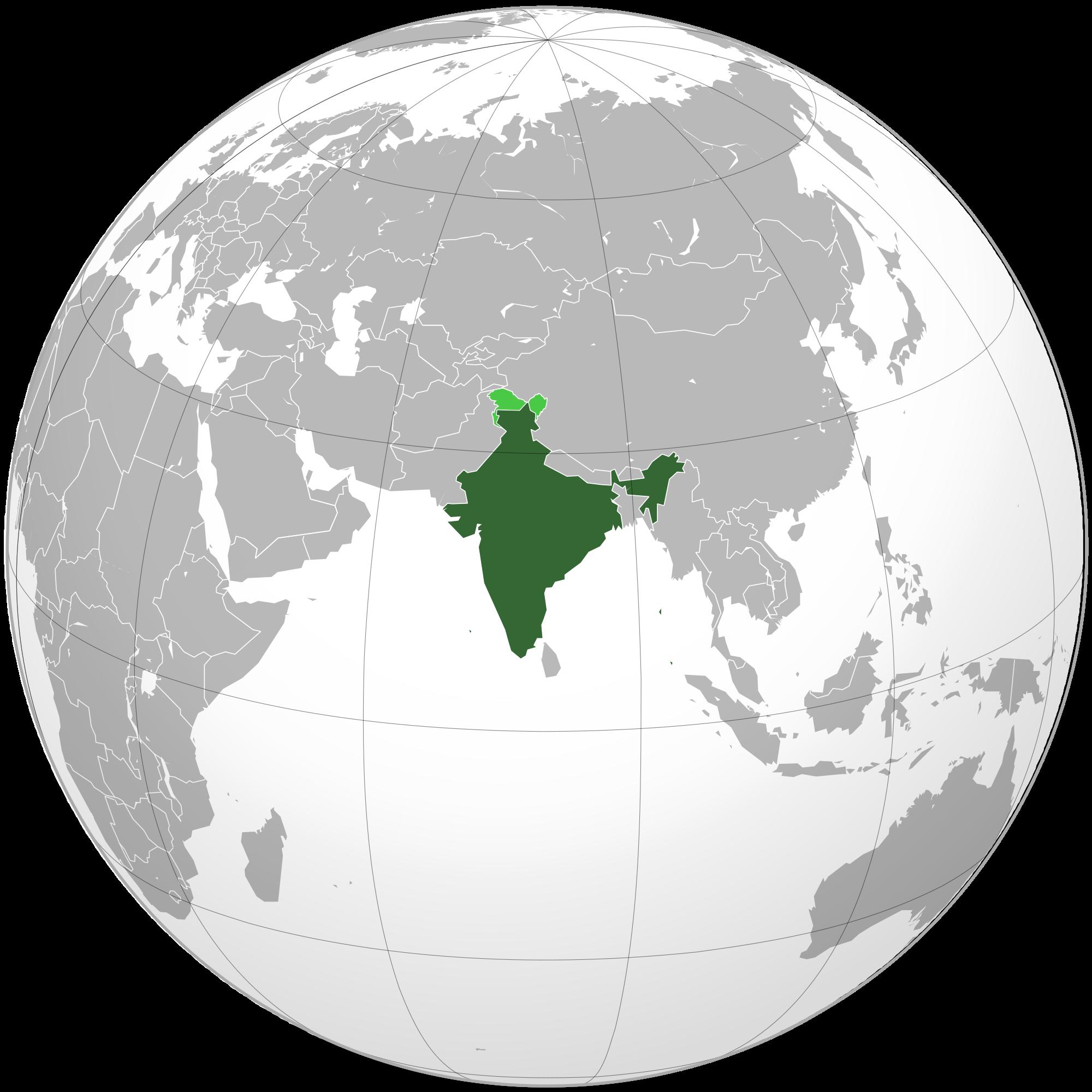 India on world map birthday pinterest india on world map gumiabroncs Images