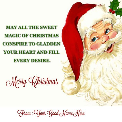 Happy Merry Christmas To You And Family Name Pictures Wishes Greeting Card Christmas Wishes Quotes Merry Christmas Wishes Quotes Happy Merry Christmas