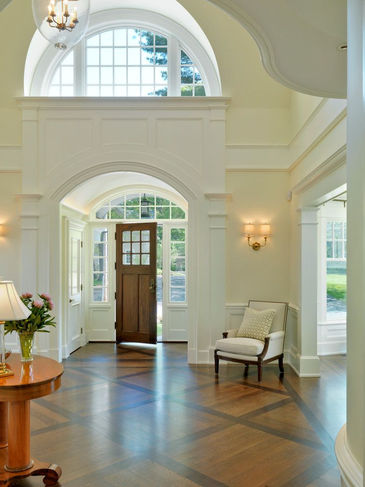 Best Entry Halls Main Stairs Traditional Entry Boston 400 x 300