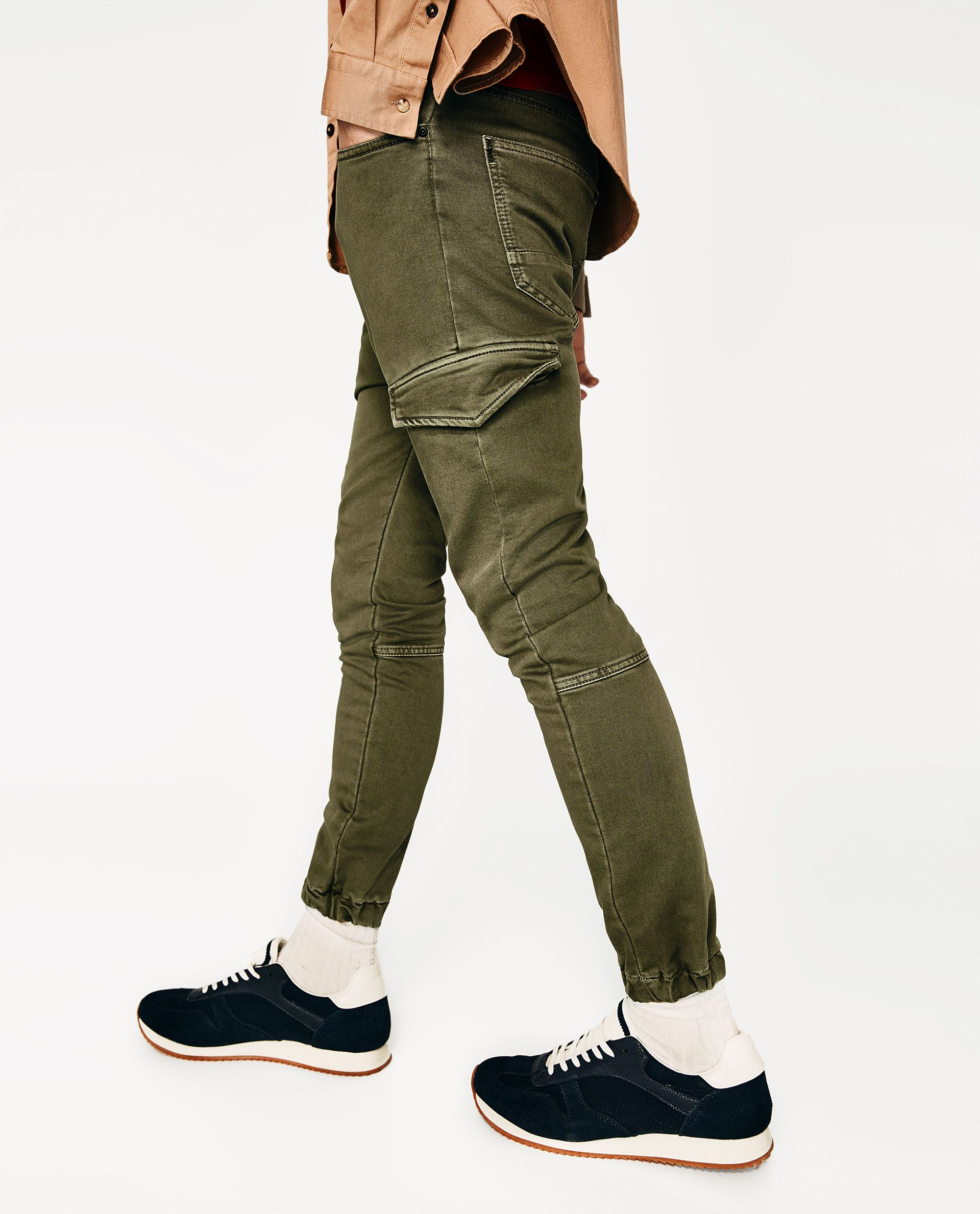fad1e154b5 SOFT CARGO TROUSERS | CARGO JOGGER in 2019 | Trousers, Sweatpants, Pants