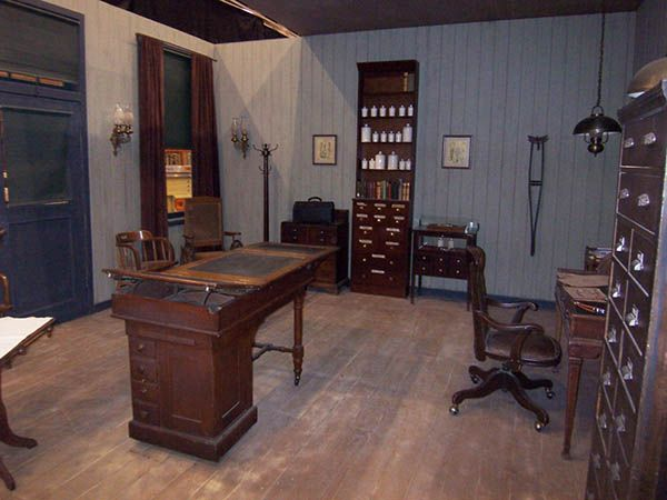 historical doctor's office. via Bluegrass and Blueberries: It's my ...