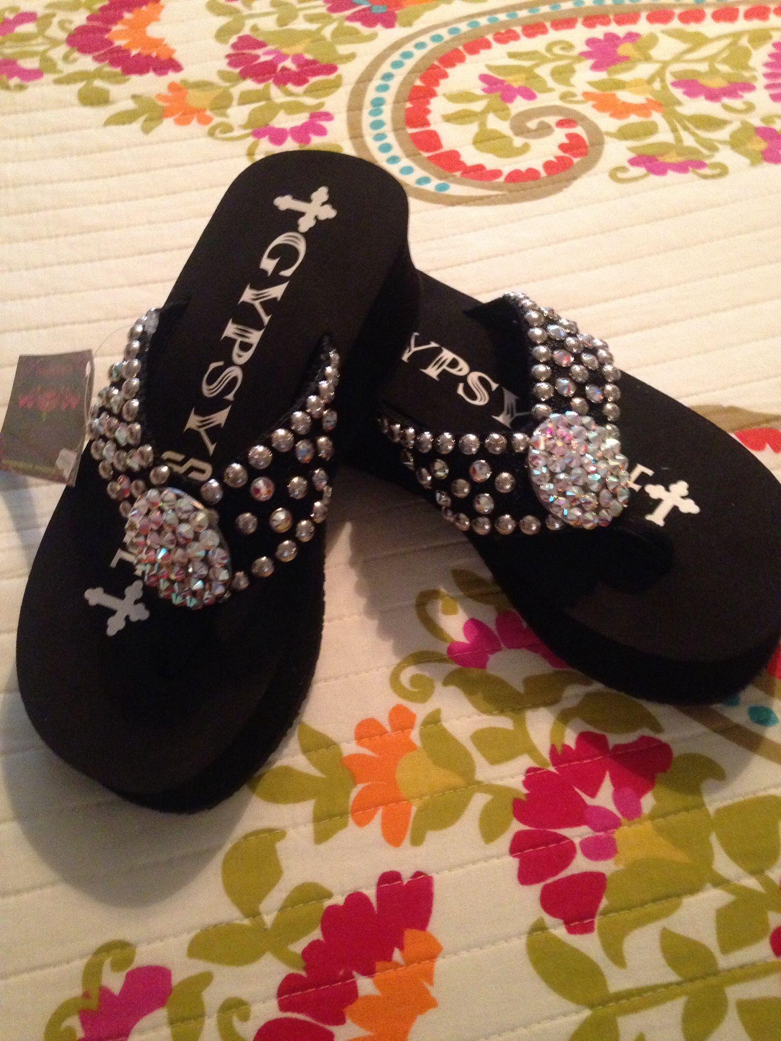 65b37fba370 Showtime Flip Flops from Gypsy Soule @ Casa Bella Boutique Roswell ...