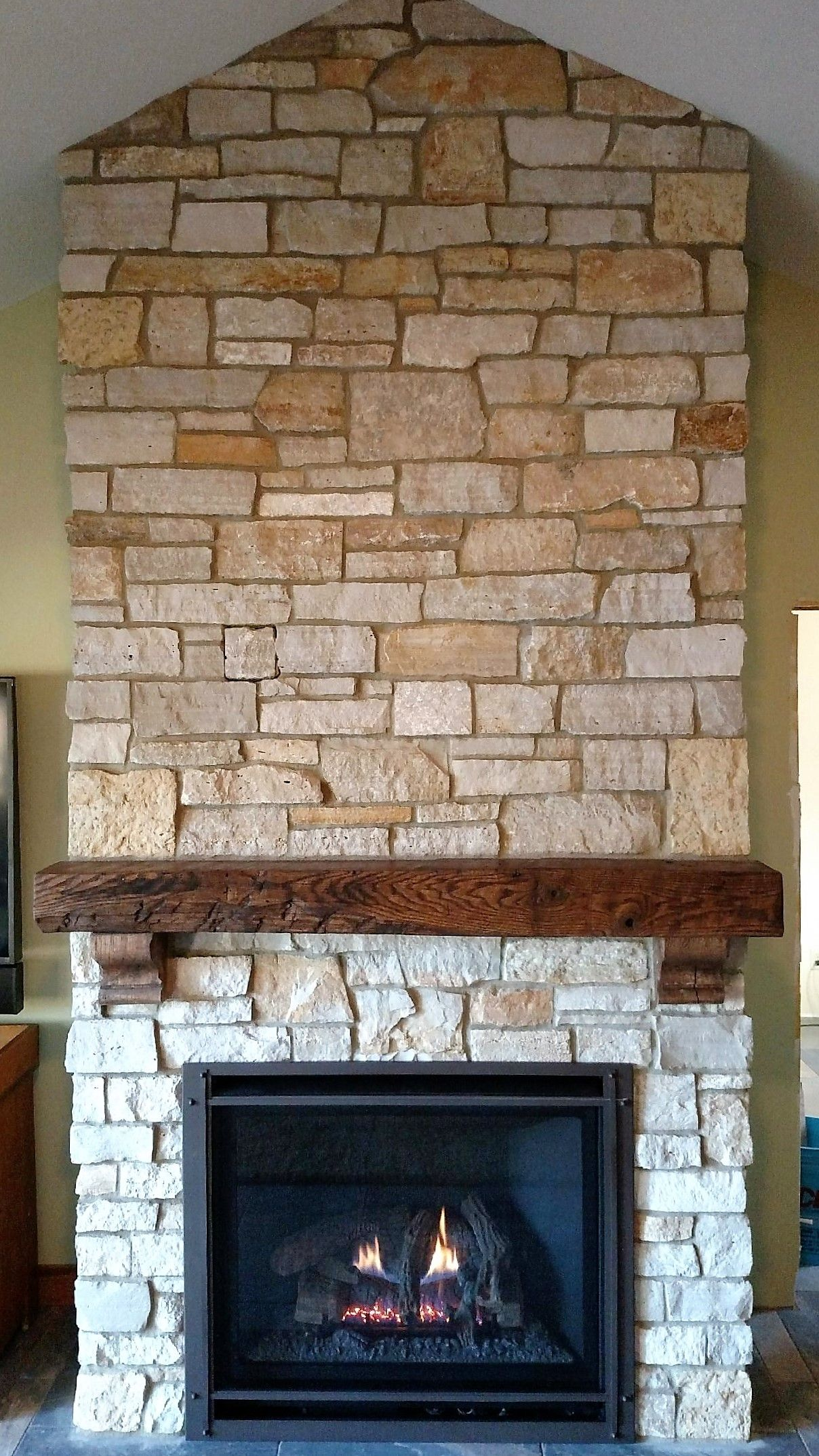 Great American Fireplace Installed This Kozy Heat Gas Fireplace