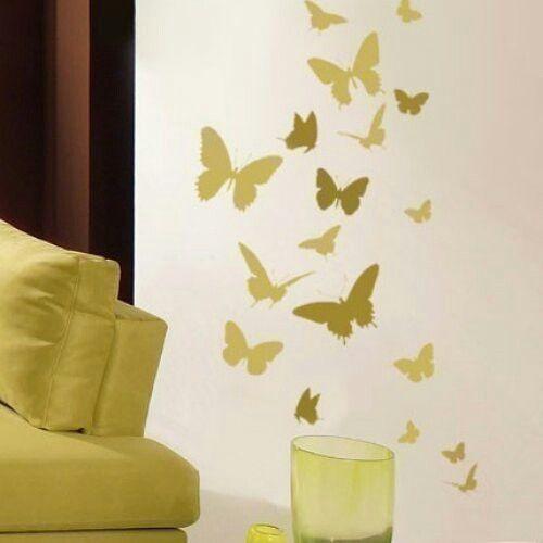 2D butterflies | Ideas for the Home | Pinterest | 2d