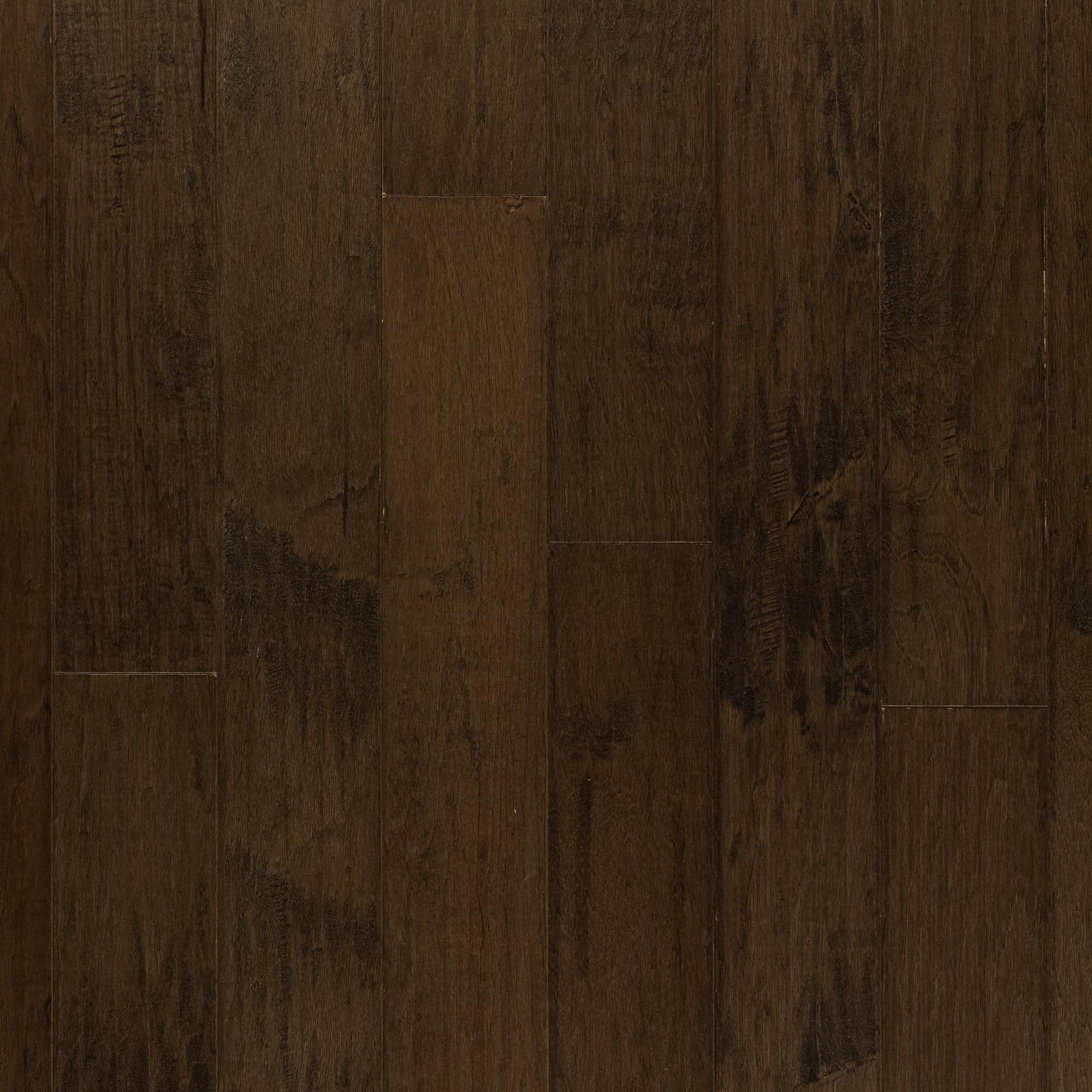 Hickory Granite WireBrushed Engineered Hardwood