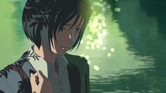 Makoto Shinkai Anime The Garden Of Words Yukino Yukari Bokeh Wallpaper Garden Of Words Anime Anime Films