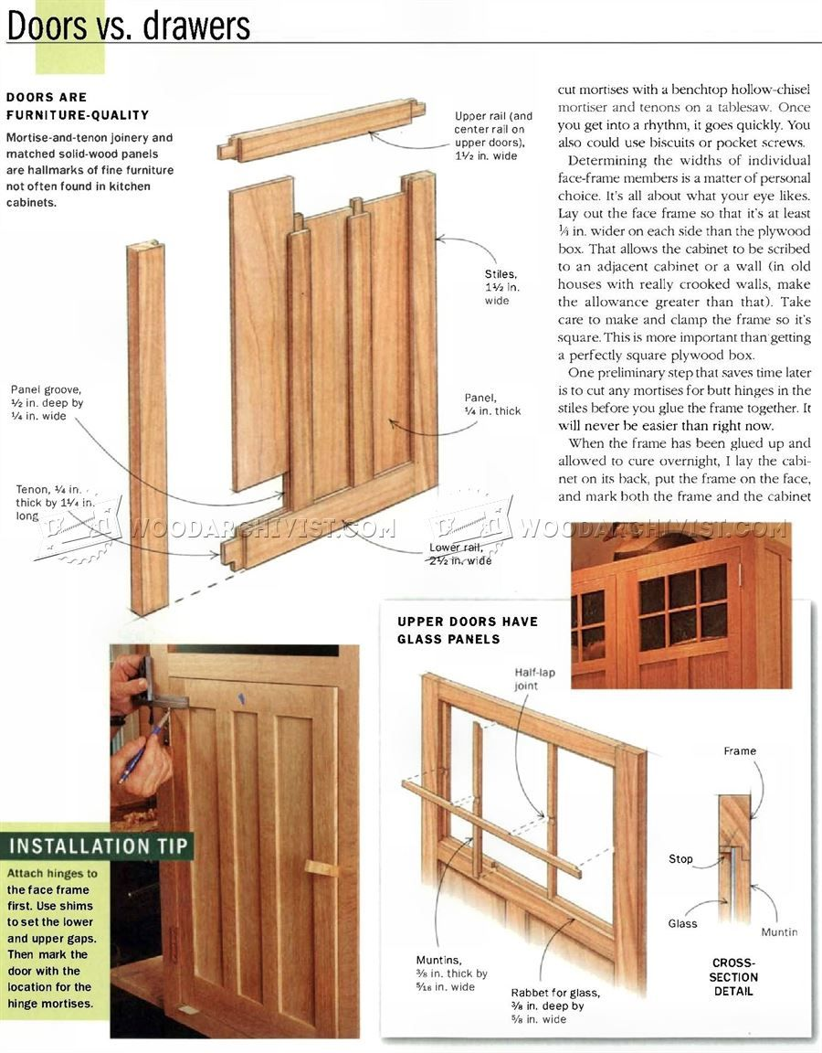 632 Kitchen Cabinets Plans Furniture Plans Kitchen Cabinet Plans Cabinet Plans Cabinet Woodworking Plans
