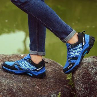 Rp 291840 00 Yuzi Pria Lari Sepatu Bernapas Pria Sepatu Atletik