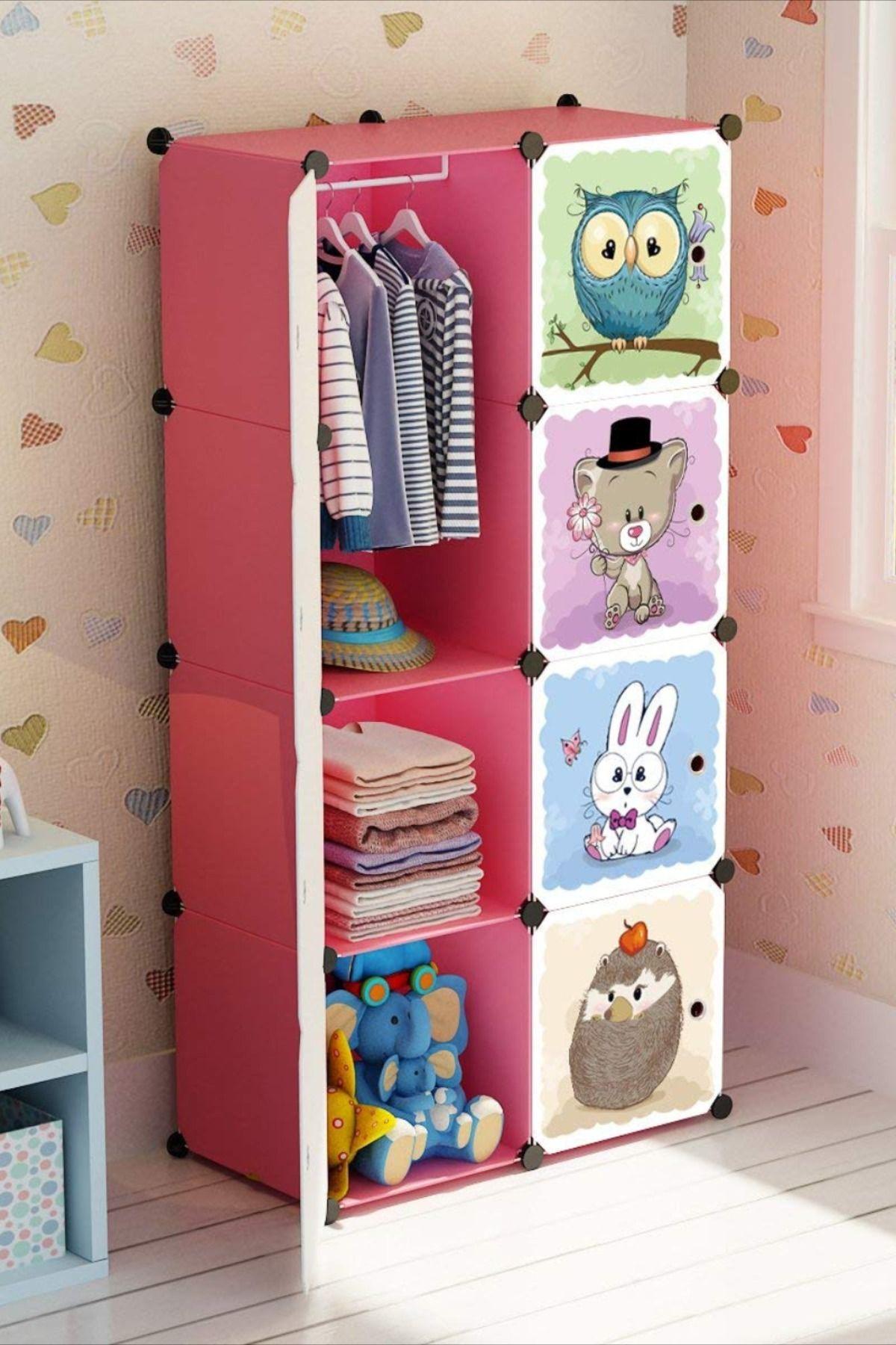 Portable Kid Organizers And Cute Baby Storage Organizer Clothes Wardrobe Cube Closet Multifuncation Baby Storage Cubes Closet Organization Kids