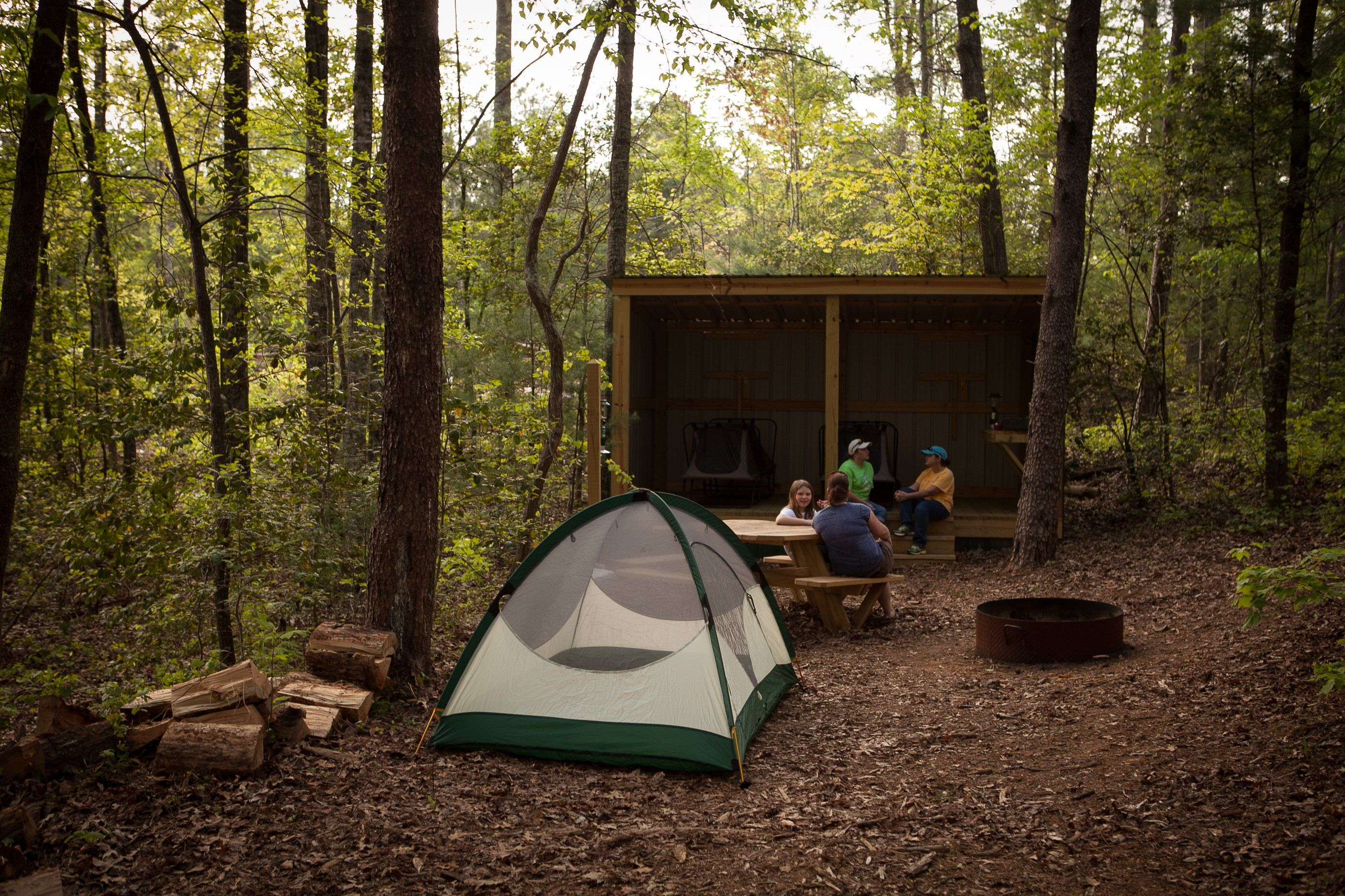 The Rustic Mountain Campground In South Carolina That's ...