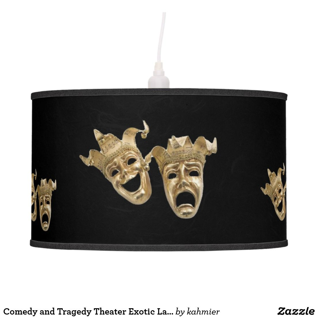 Comedy and Tragedy Theater Exotic Lamp   * LAMPS and Lamp Shades ...