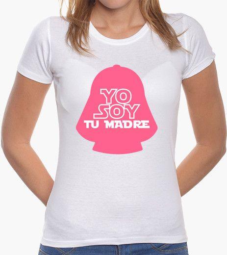 adda7f1d Camiseta Yo soy tu madre Camisetas Divertidas, Dibujos Camisetas, Camisetas  Estampadas, Prendas,