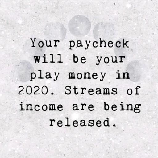 Will be your play money in 2020 #money #moneyvibes #digitalmoney #moneymanifest #loa #lawofattraction #manifestation