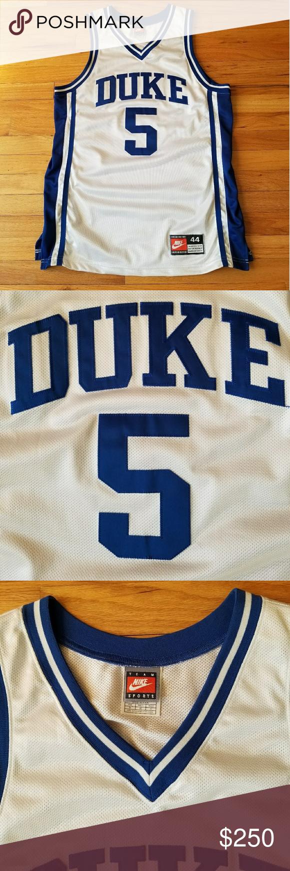 7eabdd32355 Nike Duke Team-Issued Vintage Basketball Jersey A rare