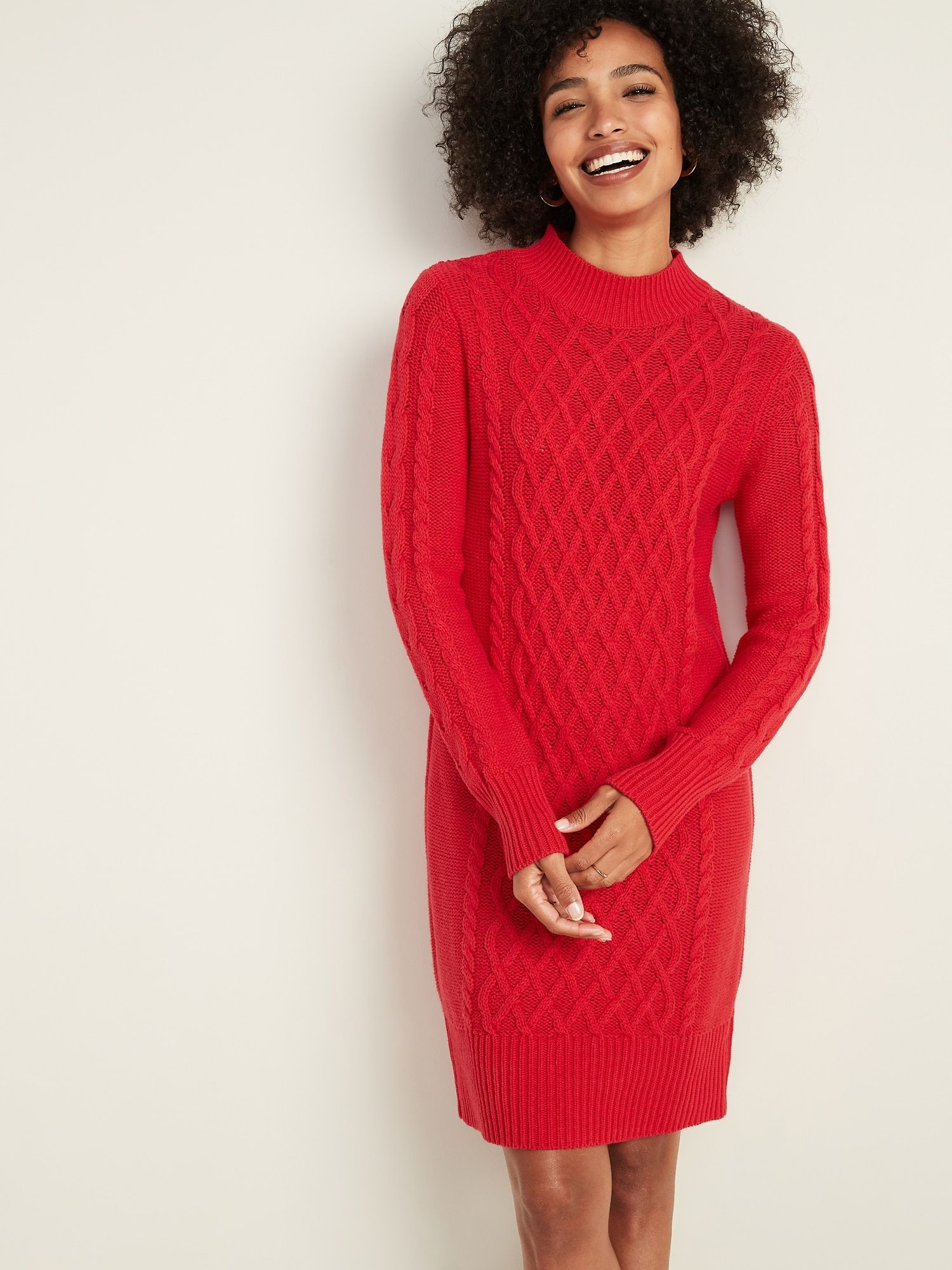 Cable Knit Sweater Dress For Women In 2021 Sweater Dress Women Cable Knit Sweater Dress Sweater Dress [ 2000 x 1500 Pixel ]