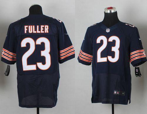 33a6a6d99 Nike Bears  23 Kyle Fuller Navy Blue Team Color Men s Stitched NFL Elite  Jersey And