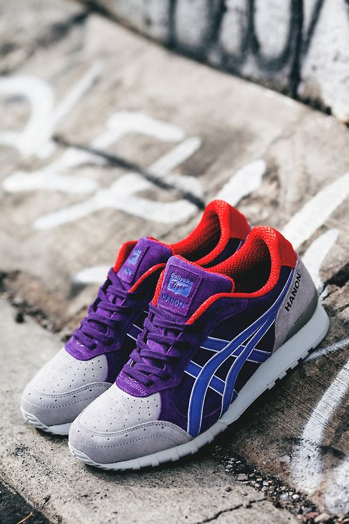 HANON X ONITSA TIGER COLORADO 85 NORTHERN LIITES Purple/ Blue Outlet Sale