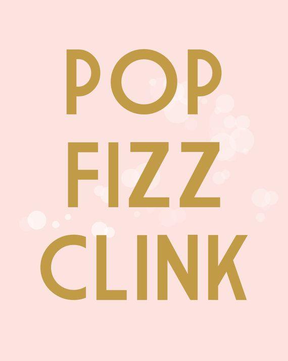 Pop Fizz Clink 8x10 Print Fashion Wall Art By Crownandhearts 16 00 Pop Fizz Clink Fashion Wall Art Poster Fashion Wall Art
