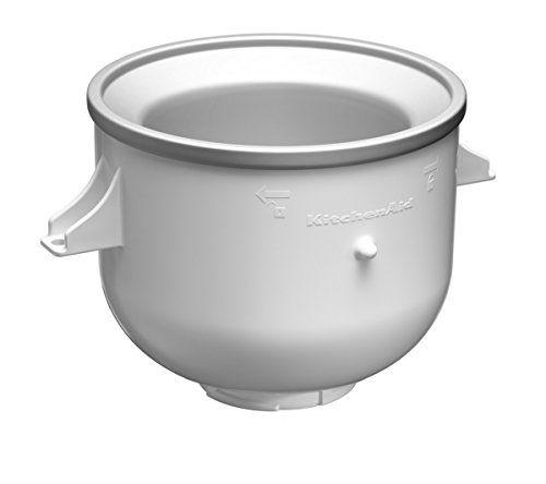 KitchenAid KICAOWH - Accesorio para helado para los robots de cocina - kitchenaid küchenmaschine artisan rot