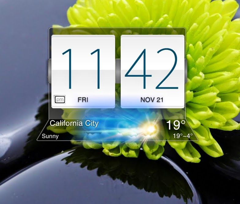 Pin by Cleo Wallpaper on Widgets | Clock, Desktop