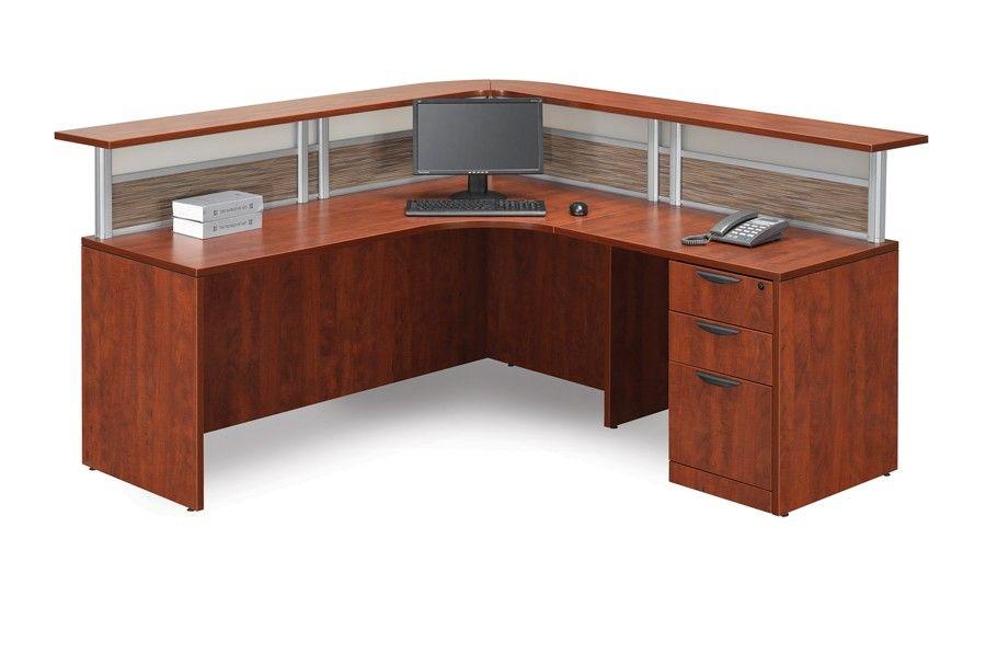 Isaac Rogers Plb 16 Performance Laminate Reception L Shape Desk