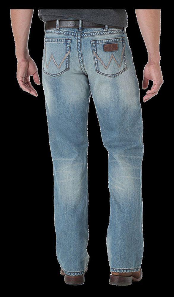 cdfc952b WRANGLER WLT77TX Mens JEANS RETRO SLIM FIT BOOT CUT NWT #WRANGLER #SLIM
