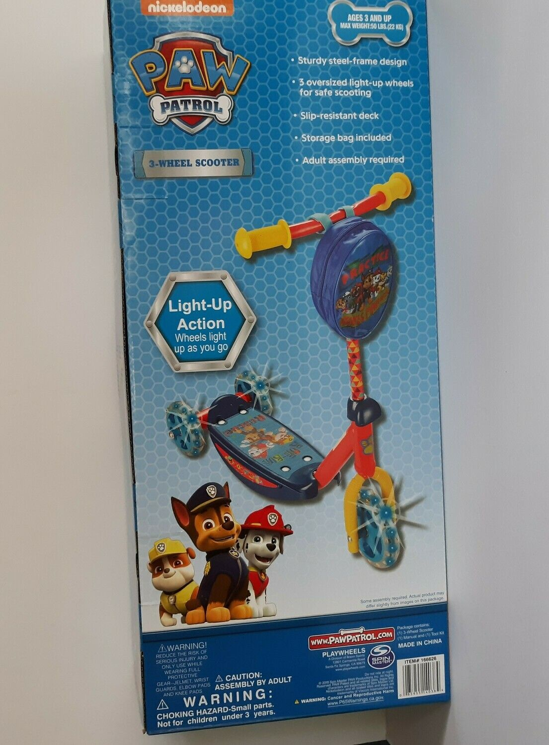 Paw Patrol 3 Wheel Scooter Age